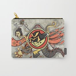 YM Japanese Tails Carry-All Pouch
