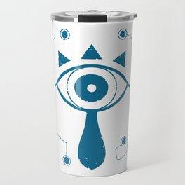 Weathered Sheikah Symbol Travel Mug