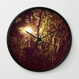 Lurking in the night Wall Clock