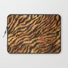 Bengal Tiger Fur Wildlife Print Pattern Laptop Sleeve