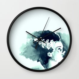 The Bride (profile) Wall Clock