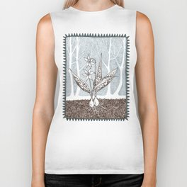 Toad Lily / Adder's Tongue Biker Tank