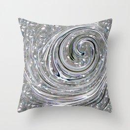 Revolving Crystal Throw Pillow