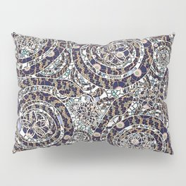 Year of the Snake mosaic Pillow Sham