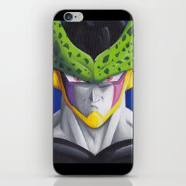 Cell Portrait Painting iPhone Skin