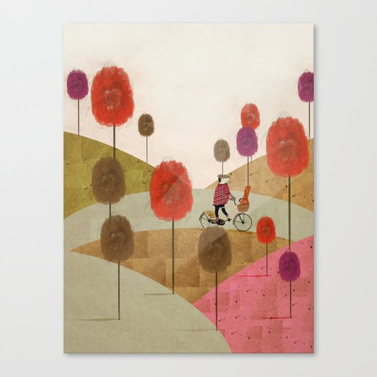 poppy hill Canvas Print