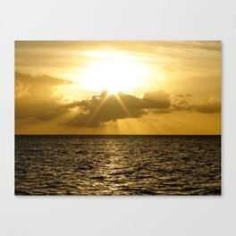 Heaven is Resting Canvas Print
