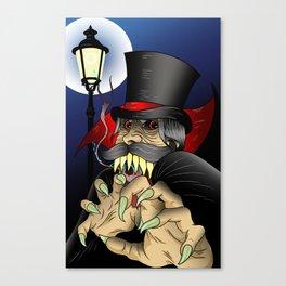 The Ripper Canvas Print