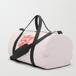 Strong Women Strong World Duffle Bag
