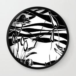 Meadow waves 01 Wall Clock