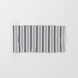 Gray Stripes Hand & Bath Towel