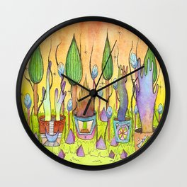 Dream Garden 1 Wall Clock