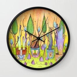Dream Garden 1 Wall Clock