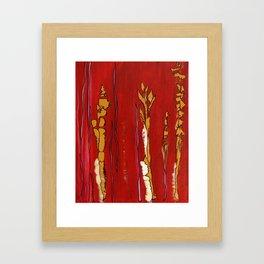 Playful Lines Framed Art Print
