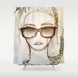 Hang On For Me Shower Curtain