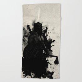 Viking Beach Towel