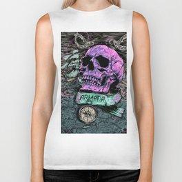 Pirate's skull Biker Tank