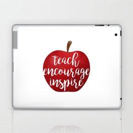 Teach Encourage Inspire Laptop & iPad Skin