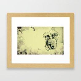 Contamination - Of Masks and Men Series Framed Art Print