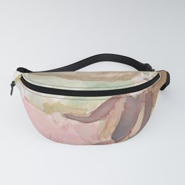 Figure with Watering Can Fanny Pack