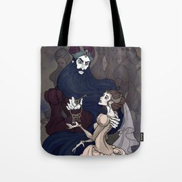Bluebeard Tote Bag