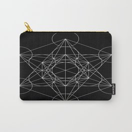 Sacred Geometry : Metatron's Cube / The Map of Creation Carry-All Pouch