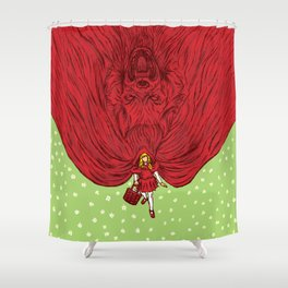Going to Grandmother's House Shower Curtain