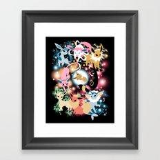 Eevolution Framed Art Print