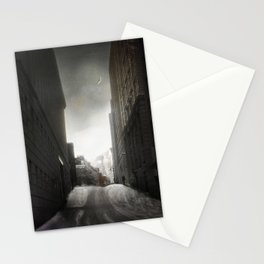Under the Midnight Moon Stationery Cards