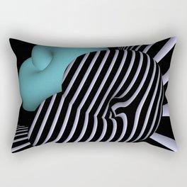 Klein's bottle in Op-Art design Rectangular Pillow