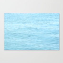 Colors of the Sea Water - Clear Blue Canvas Print