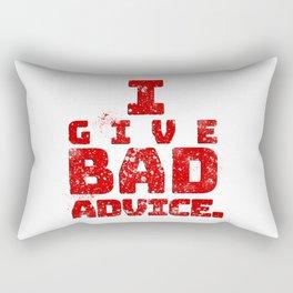Bad Advice. Rectangular Pillow