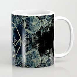 Sacred Geometry for your daily life -  Platonic Solids - ETHER Coffee Mug