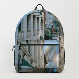 The Cityscape View (Color) Backpack