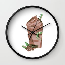 Funny gifts for coffee lovers Cute Iced Coffee Wall Clock