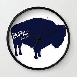 Buffalo, New York Wall Clock