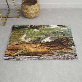 Decaying Trunk Rug