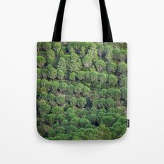 Young pine forest 6809 Tote Bag