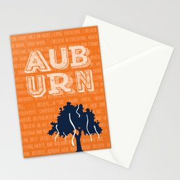 Auburn Creed Stationery Cards