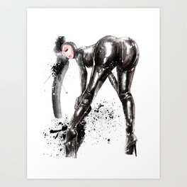 Fetish painting #4 Art Print