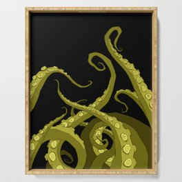 Subterranean - Green Tentacle Serving Tray
