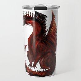 Dragon Abstract Challenger Travel Mug