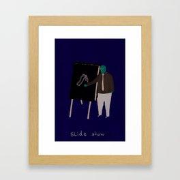 Slide Show Framed Art Print