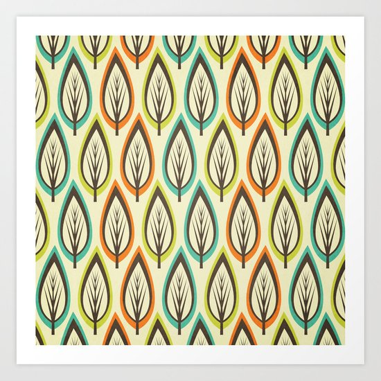 Can't See The Wood For The Trees. Art Print