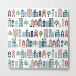 Amsterdam neighbourhood Metal Print