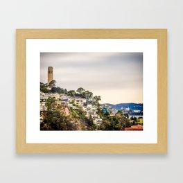 Telegraph Hill Framed Art Print