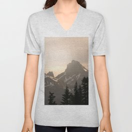 Adventure in the Mountains - Nature Photography Unisex V-Neck