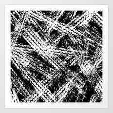 Desert Tracks Art Print