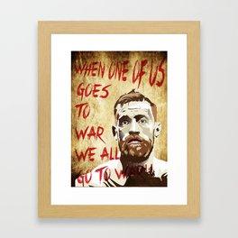 Conor McGregor - The fighting Irish Framed Art Print
