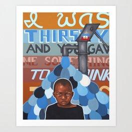 Haiti Benefit Painting 2 Art Print